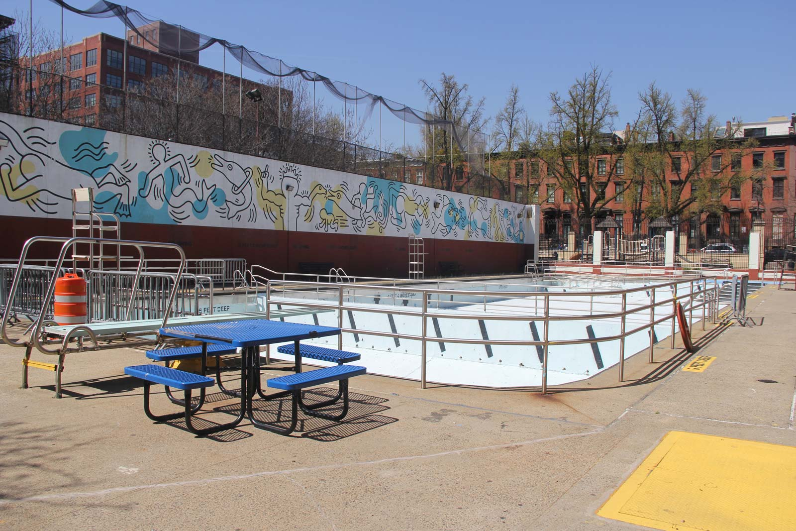 Pool at Dapolito Recreation Center